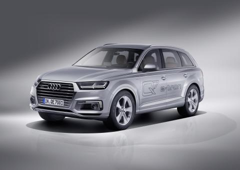 Audi Q7 e-tron 3.0 TDI quattro kan fås i Danmark til sommer