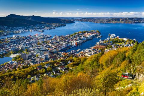 Bergen und die vorgelagerten Inseln, Austragungsort der Straßen-Radweltmeisterschaft 2017