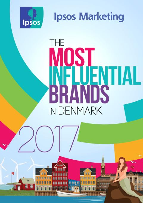 The Most Influential Brands in Denmark 2017