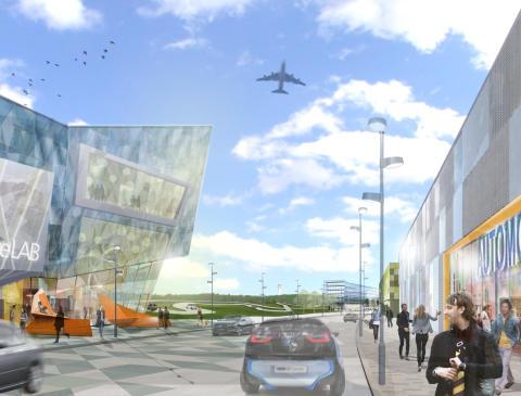 Airport City Stockholm_DriveLAB Stockholm