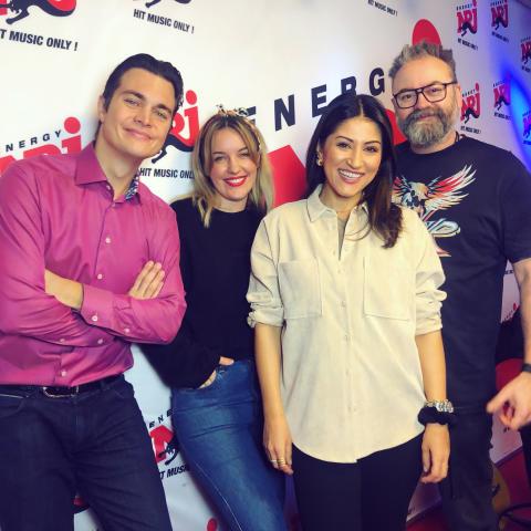 Nikki Amini blir en del av NRJ Morgon med Adam Alsing