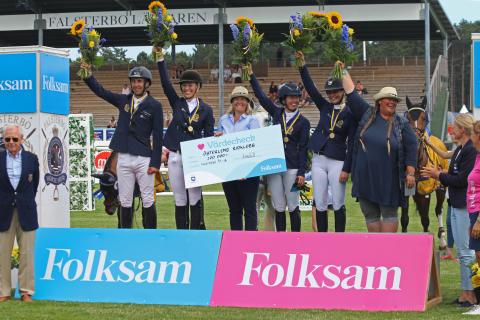 Österlens Ridklubb  vann Folksam Elitallsvenska