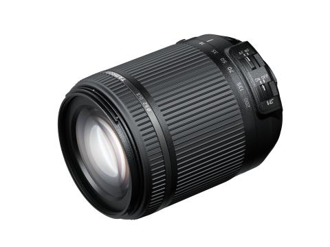 Tamron 18-200 Di II VC Nikon, snett framifrån