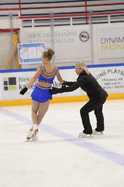 Susanne Olsson, Årets ungdomsledare 2016. Fotograf: Minna Kujanpää