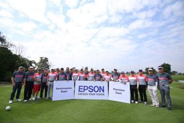 Epson arranged Golf Ryder Cup #3 at Panya Intra Golf Course