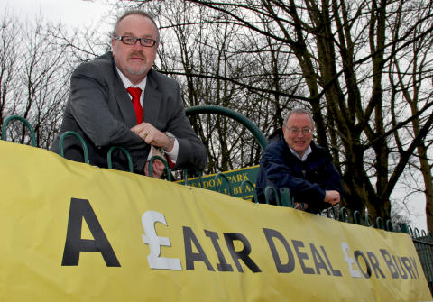 Budget draws near – join the Fair Deal for Bury