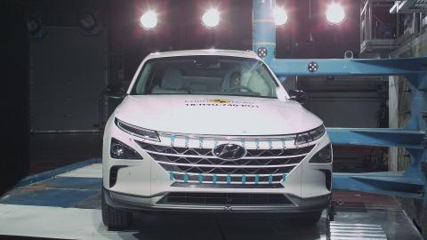 Hyundai in its element as hydrogen-powered NEXO scores five-star Euro NCAP safety rating