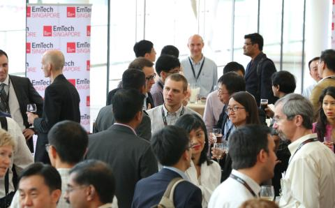 Participants Laud the Inaugural EmTech Singapore Event