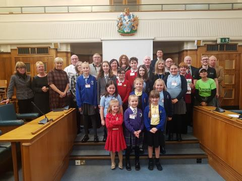 ​Greening Grey Britain – our talented school and community winners