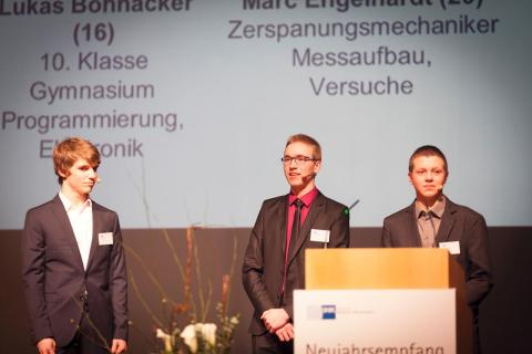 ulrich medical has recorded double-digit sales growth and has presented a young researchers project at the New Year's reception of the Chamber of Industry and Commerce