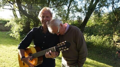 Göran Fristorp & Curt-Eric Holmquist.