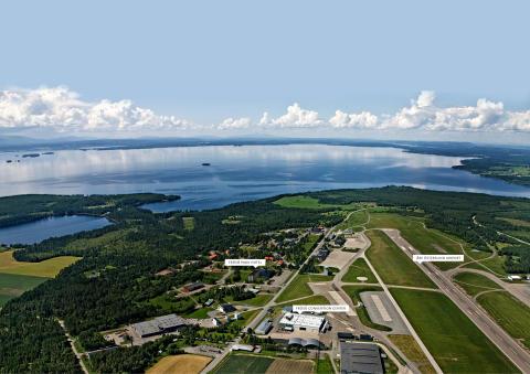 Områdesbild Frösö Park, Östersund, Jämtland