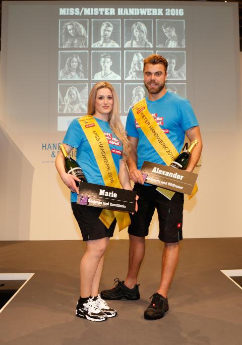 Deutschland hat eine neue Miss und einen neuen Mister Handwerk