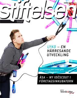 Nytt vintermagasin från Stiftelsen Teknikdalen