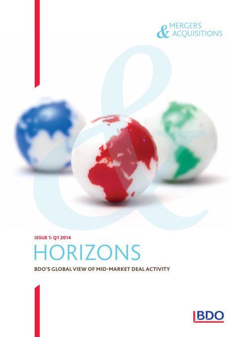Läs BDO:s globala tidskrift med fokus på M&A