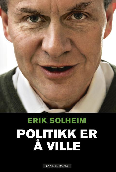Erik Solheim pressekonferanse mandag