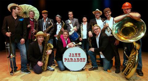 Jazzparad med Bohuslän Big Band på Kultur- och porslinsfestivalen