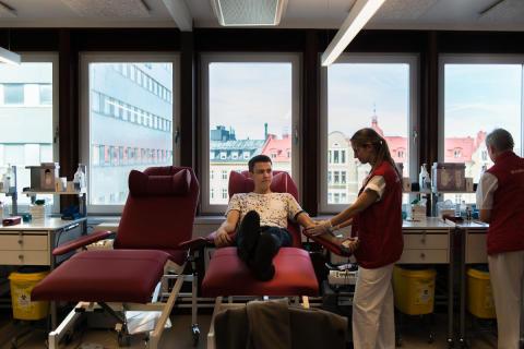 7000 blodgivare behövs i Stockholm inför jul