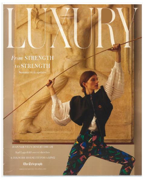 Framsida The Telegraph Luxury