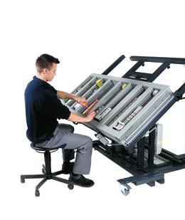 Montagebord för montering och håltagning m.m.