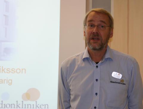 Håkan Nyström, verksamhetschef Skandionkliniken