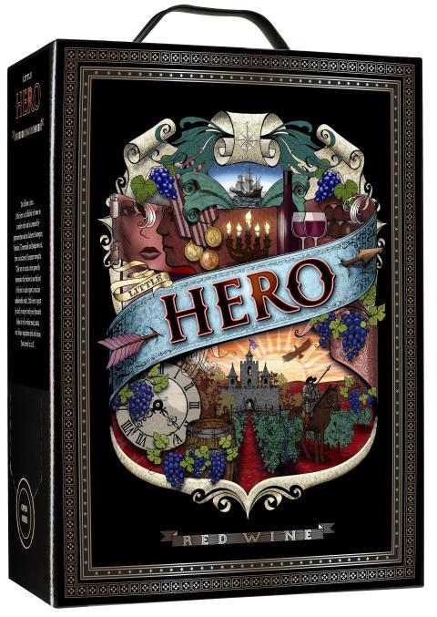 Nytt succévin från Oenoforos - Little Hero