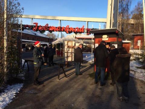 Dags igen för julmarknad och mycket annat på Frövifors Pappersbruksmuseum