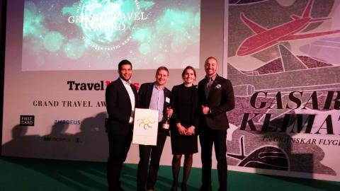 Fjärde vinsten för Hertz i Grand Travel Award