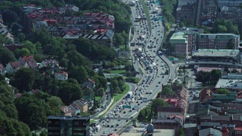 Bild Västtrafik trängsel i stan