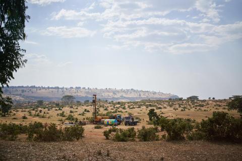 Mit Viva con Agua in Äthiopien: John's Rig in Action