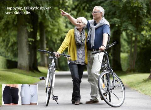 1500 äldre dör varje år av fallolyckor. Prisbelönat innovativt höftskydd kan vara lösningen.