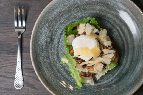 Recept - Pocherat ägg & jordärtsskocka