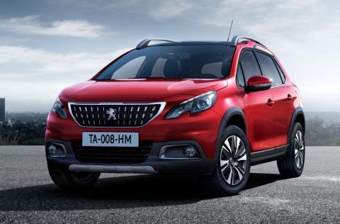 Peugeots SUV 2008 klättrar uppåt