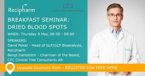 Breakfast Seminar: Dried Blood Spots