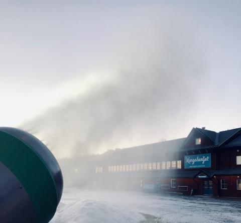 Nio dagar till skidpremiär i Kungsberget