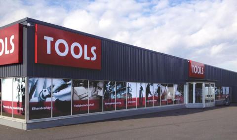TOOLS satsar på nya butiker