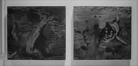 Markus Anteskogs utställning på Konstakademien –  mellan apokalyptisk destruktion och paradoxal skönhet