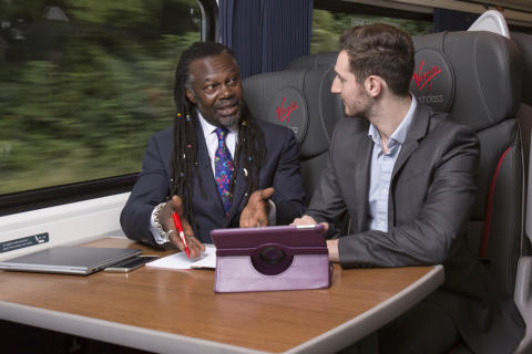 Virgin Trains to stage business clinic to boost flagging entrepreneurial 'get up and go'