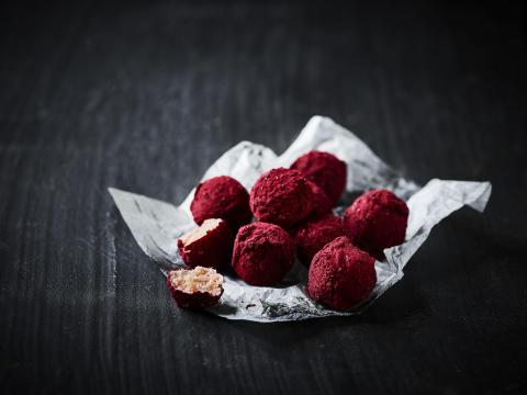 En frisk smag til konfekten - ODENSE Marcipan med Jordbær & Champagne