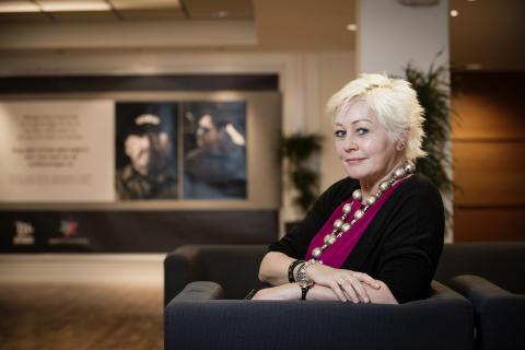 Anne Lise Ryel, generalsekreterare i den norska Cancerfonden