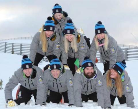 Sweden Speedski - PQR stolt sponsor
