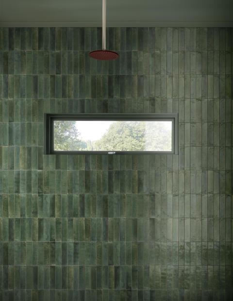 Badrumstrender 2020; Marazzi Crogiolo Lume, granitkeramik, Kakeldaxgruppen