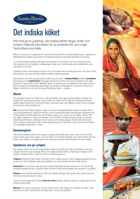 Guide - Santa Marias guide till det indiska köket