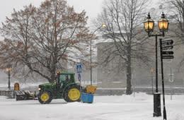Välkommen till öppet möte om vinterns snöröjning 15 februari