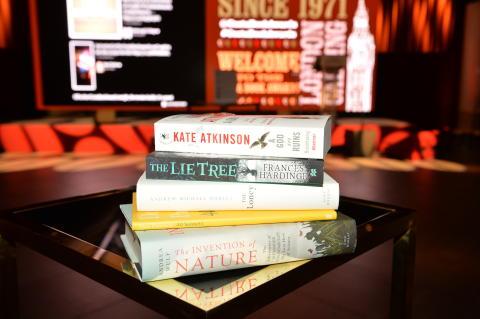 Costa Book Awards 2015 : Winners Stack at Awards