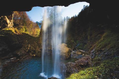 Berglistueber Wasserfall © Schweiz Tourismus Fotograf Roland Gerth