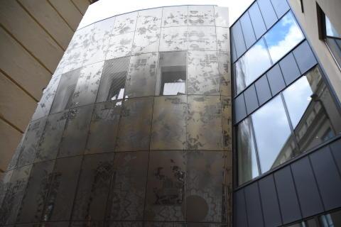 Humanistiska teatern i Uppsala kan bli Årets Bygge!