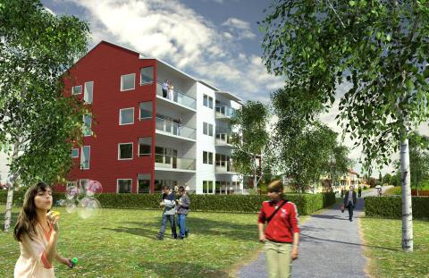 Bra drag i försäljningen på Älvsbacka Park