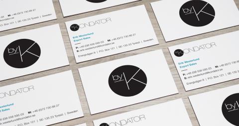 En ny visuell identitet och e-handel för Kondator