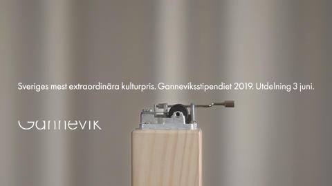 Pressinbjudan till utdelningen av Ganneviksstipendiet den 3 juni 2019